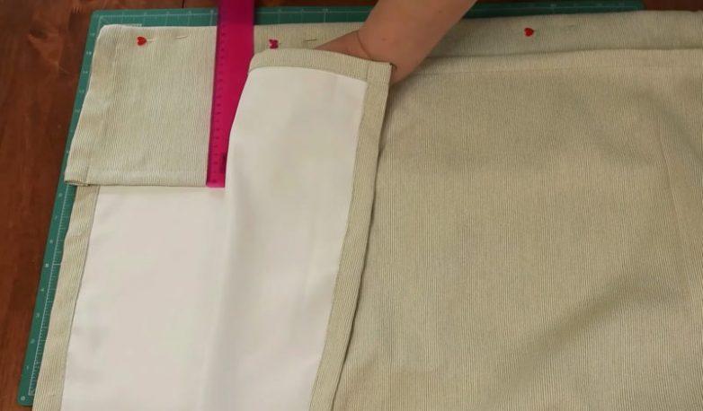 Достойное применение остаткам ткани