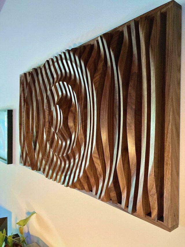 Потрясающие вещи выполненные из дерева