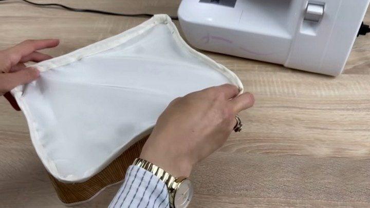 Что можно сделать из бамбуковой салфетки и кусочка ткани
