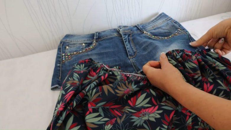Куда применить старые джинсы