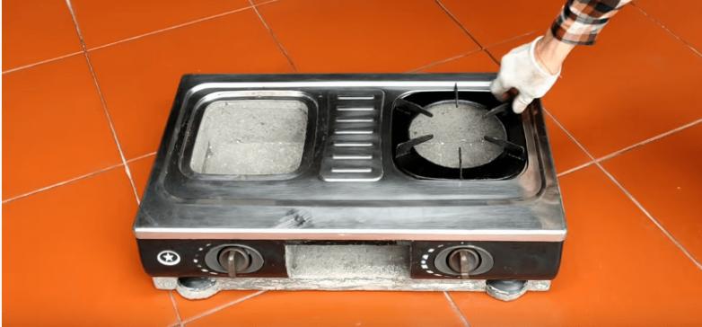 Отличная идея из нерабочей плиты
