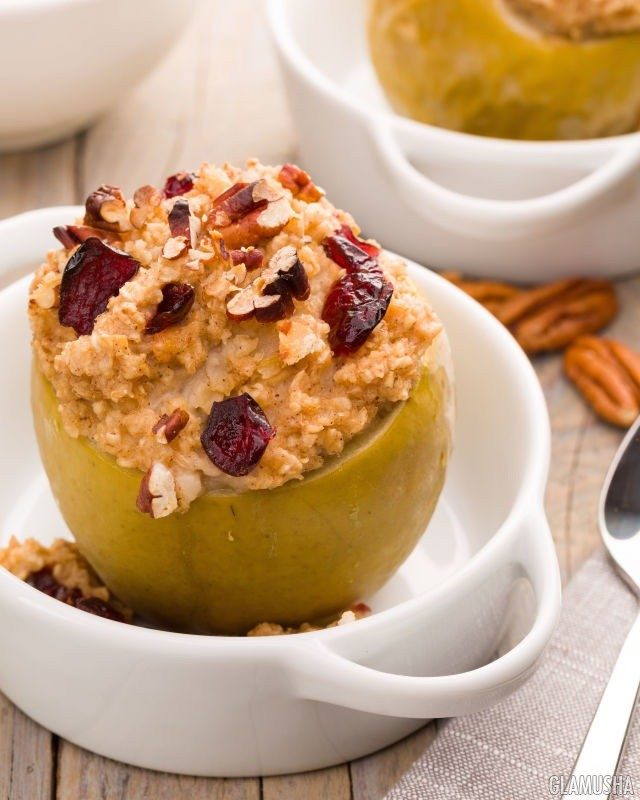 Печеные яблоки диета 1