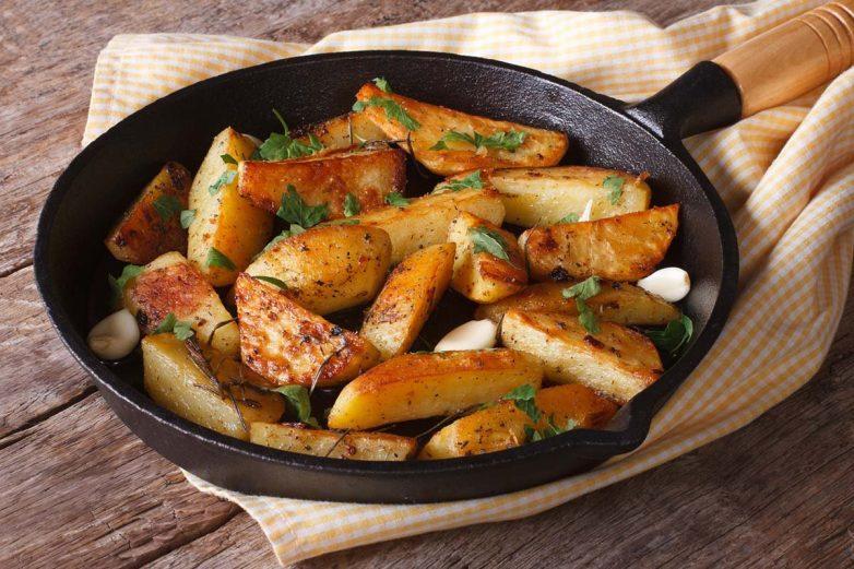 «Картофель по-улановски» с корочкой