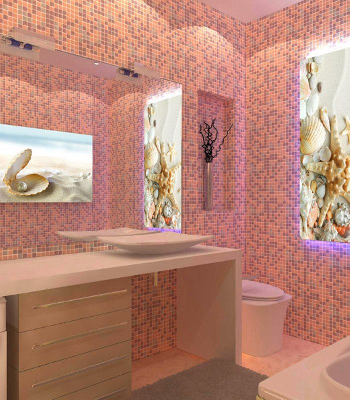 Ванные комнаты пластик в картинках