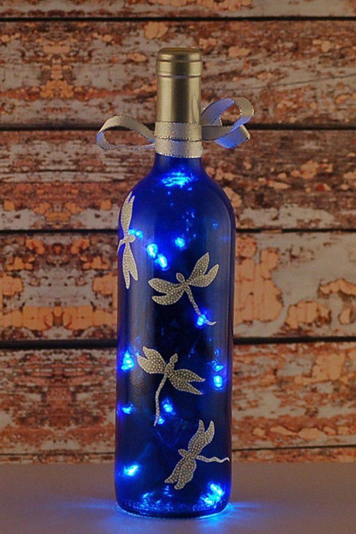 Поделка из стеклянной бутылки на новый год мозг подразделяют
