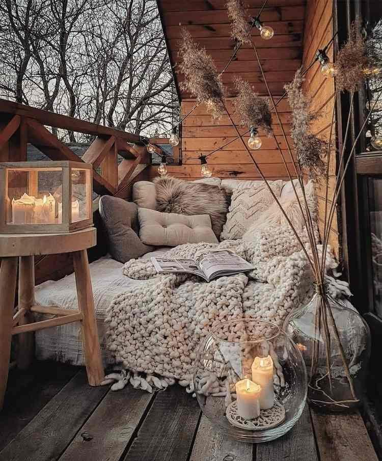 Идеи для создания уютного балкона в стиле бохо