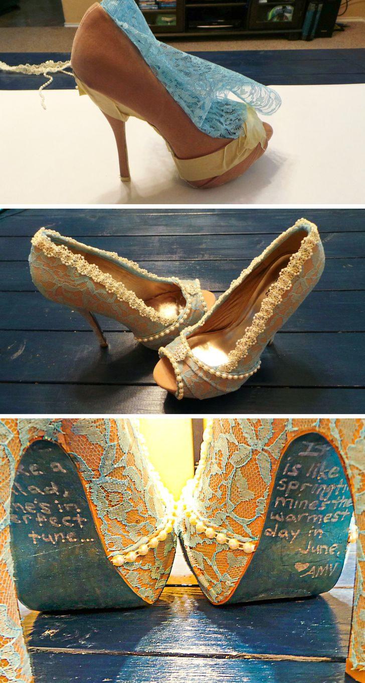 Люди, которые любые невзрачные туфли превратят в шедевр