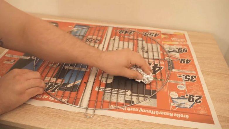 Как идеально очистить решётку для гриля