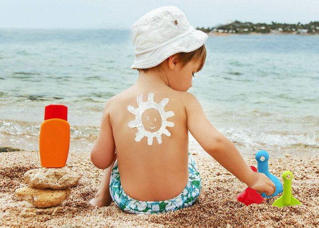 6 важных правил безопасного детского загара