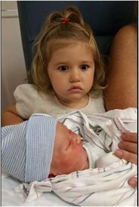 Первая встреча детей с братом или сестрой
