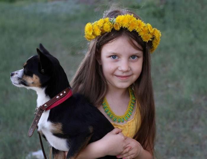 Дети и собаки - лучшие друзья!