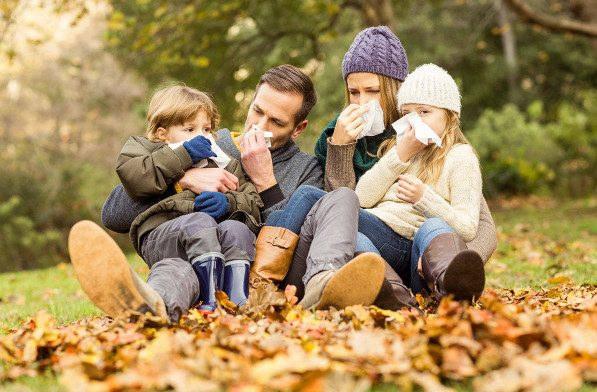 Как защитить ребенка от простуд в осенний период