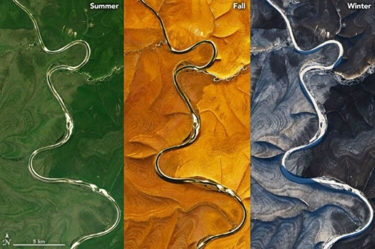 На территории Сибири обнаружены странные полосы — что это такое?