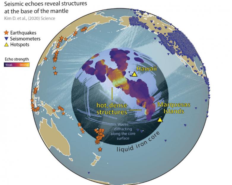 Учёные обнаружили на границе земного ядра любопытные структуры