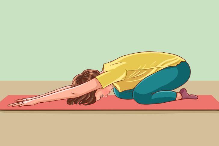 Упражнения на растяжку, которые помогут расслабить спину после трудного рабочего дня