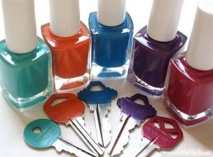 25 лайфхаков с лаком для ногтей