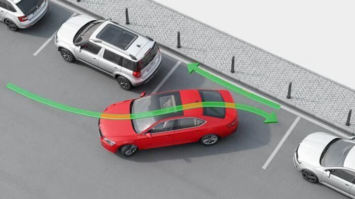 Простой способ припарковать машину без парктроника
