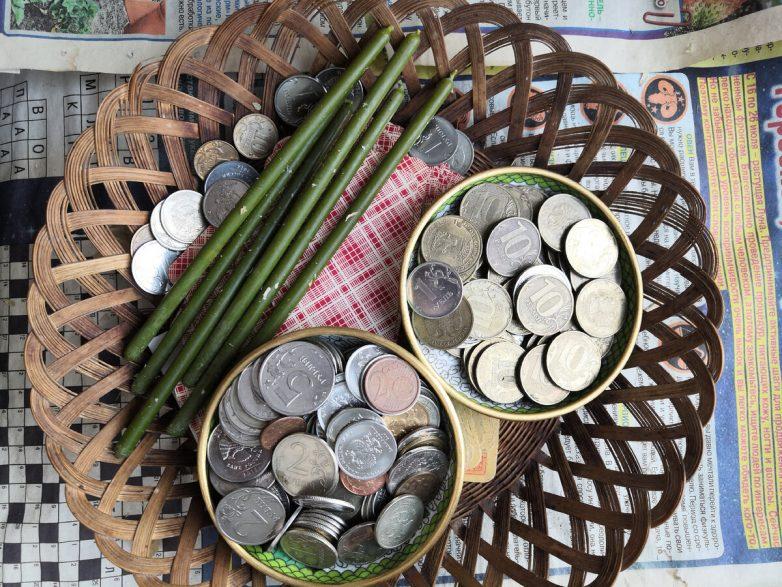Старинный денежный ритуал
