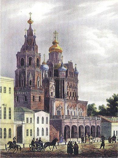 История исчезновения некоторых храмов Москвы