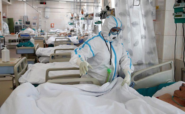 139 пациентов в России за сутки умерли от COVID-19
