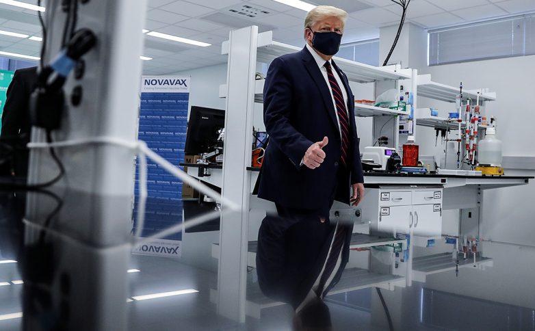 Трамп считает, что вакцины от COVID-19 будет готова к выборам