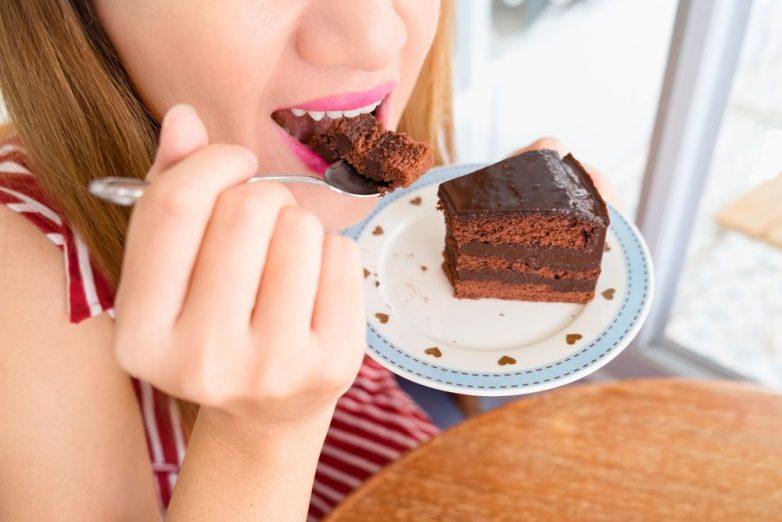 Cиндром «сахарного лица» у сладкоежек