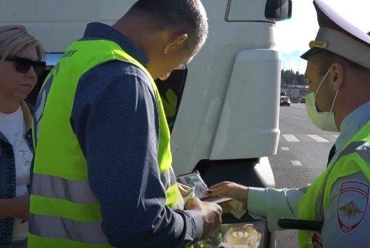 Дальнобойщики рассказали о суммах взяток на дорогах Московской области