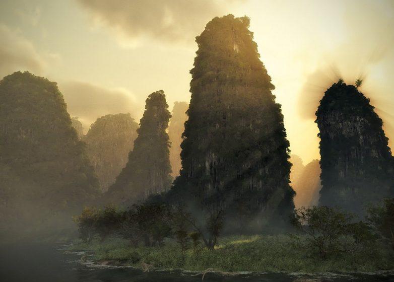Каменный Лес — уникальный природный объект в Поднебесной