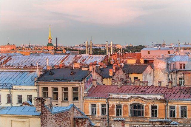 Непередаваемое очарование питерских крыш и головокружительные виды Северной столицы