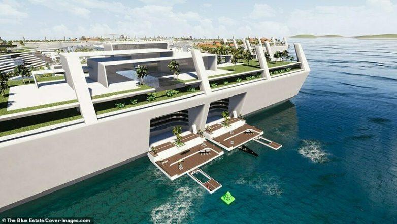 Первый в мире плавучий город: как он будет выглядеть и что о нём известно?