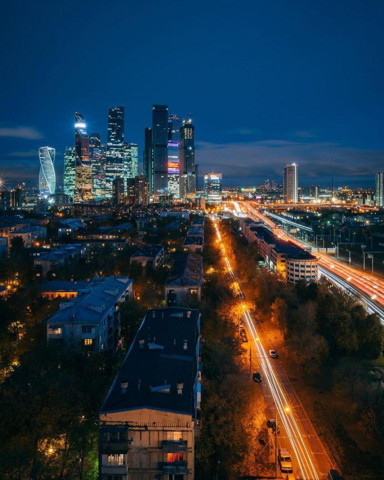 Москва на снимках Ильи Воробьёва, влюблённого в свой город