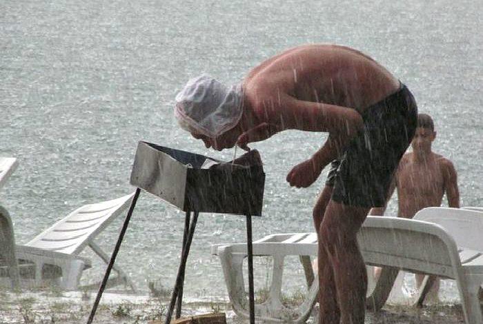 картинка на шашлыки в плохую погоду стилю болд