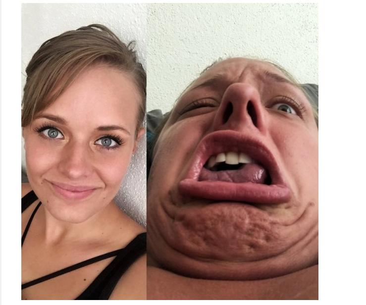 Смешные картинки селфи девушек