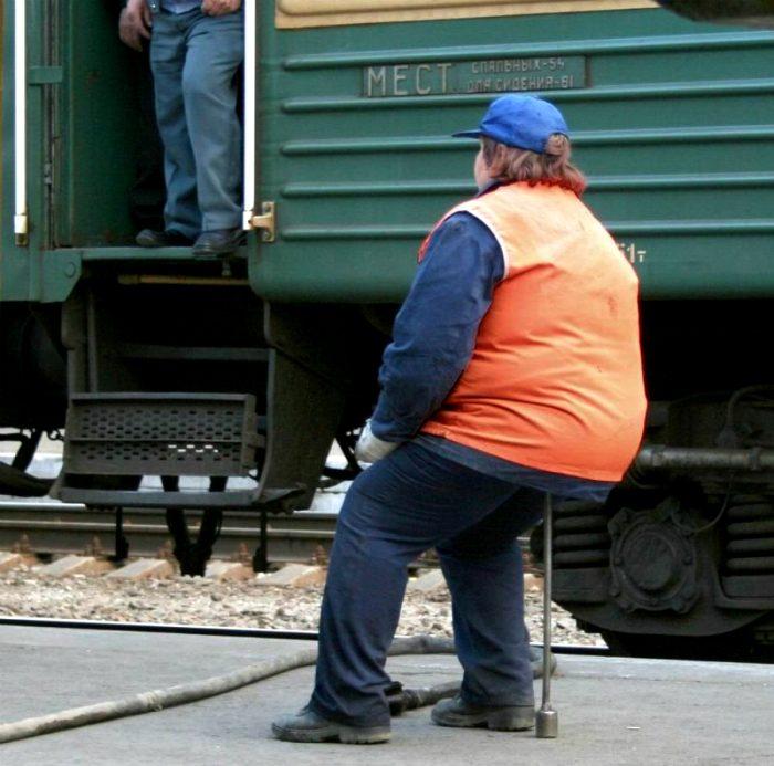 Железнодорожные приколы фото