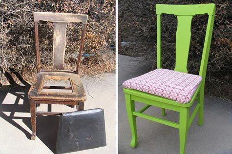 Что сделать из старых стульев своими руками советы с фото