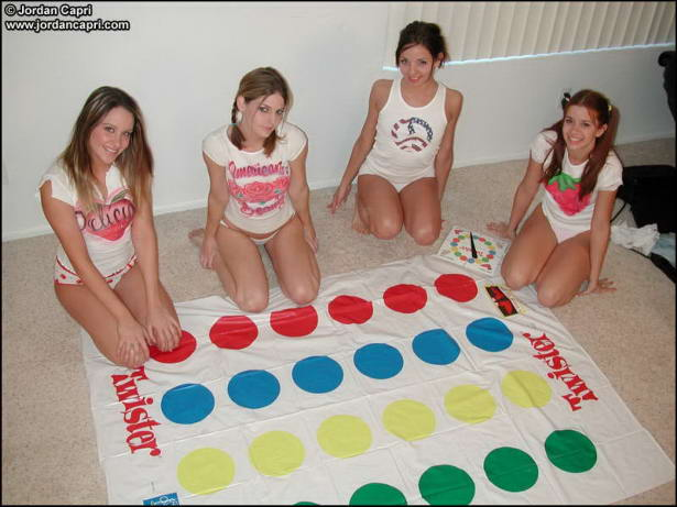 See and save as playing twister upskirt nude and downblouse porn pict