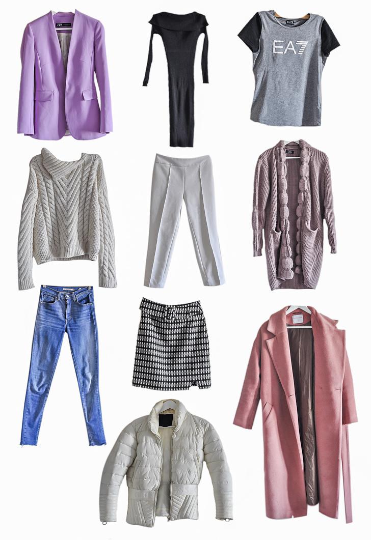 Как собрать гардероб из 10 вещей и каждый день выглядеть по-разному