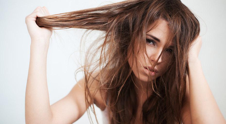 Как освежить грязные волосы