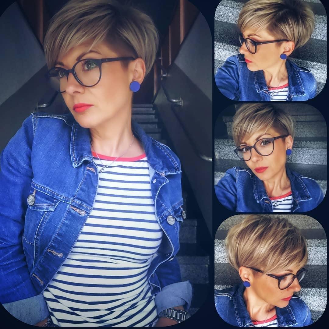 Стильные короткие стрижки для женщин 40 лет