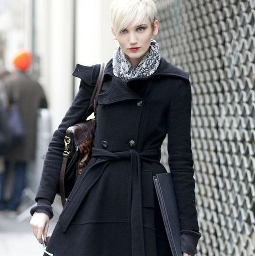 С чем носить бесподобное пальто-годе