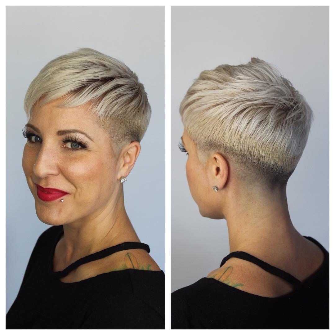 Стрижки для дам старше 40 лет на короткие волосы 2021
